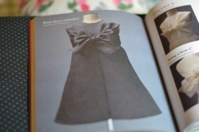 Big bow dress form Pattern Magic