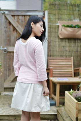 Burda simple knit top