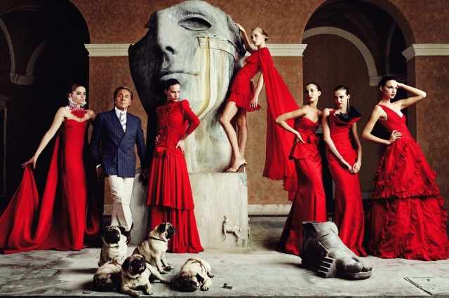 Valentino's Master of Couture Exhibition at Somerset House