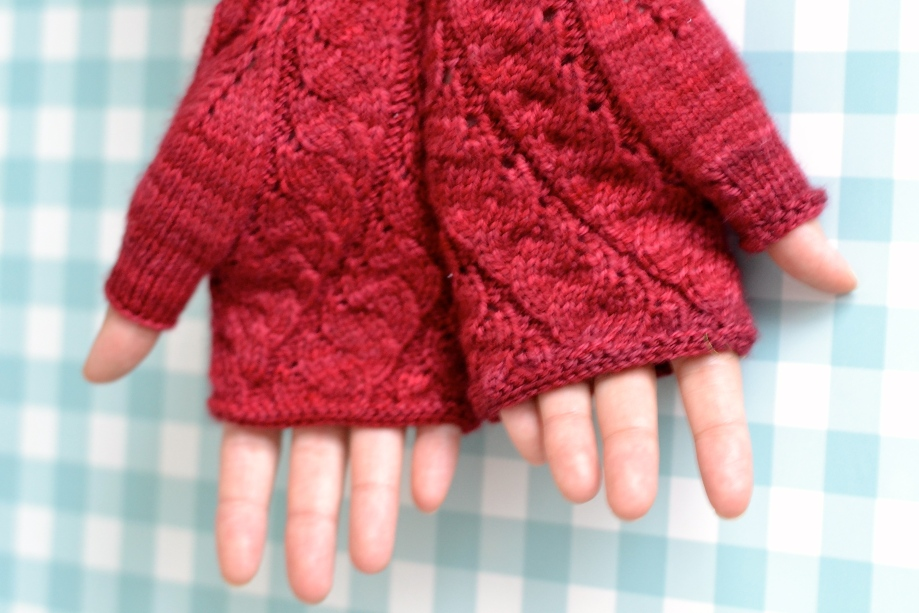 Cloudland Fingerless Gloves
