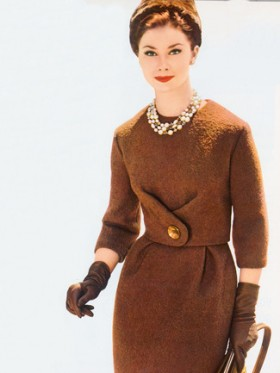 Burda 12/2012's retro dress