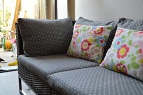 Cushions x 6