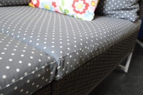Foam cushion covers