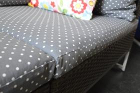 Foam cushion covers